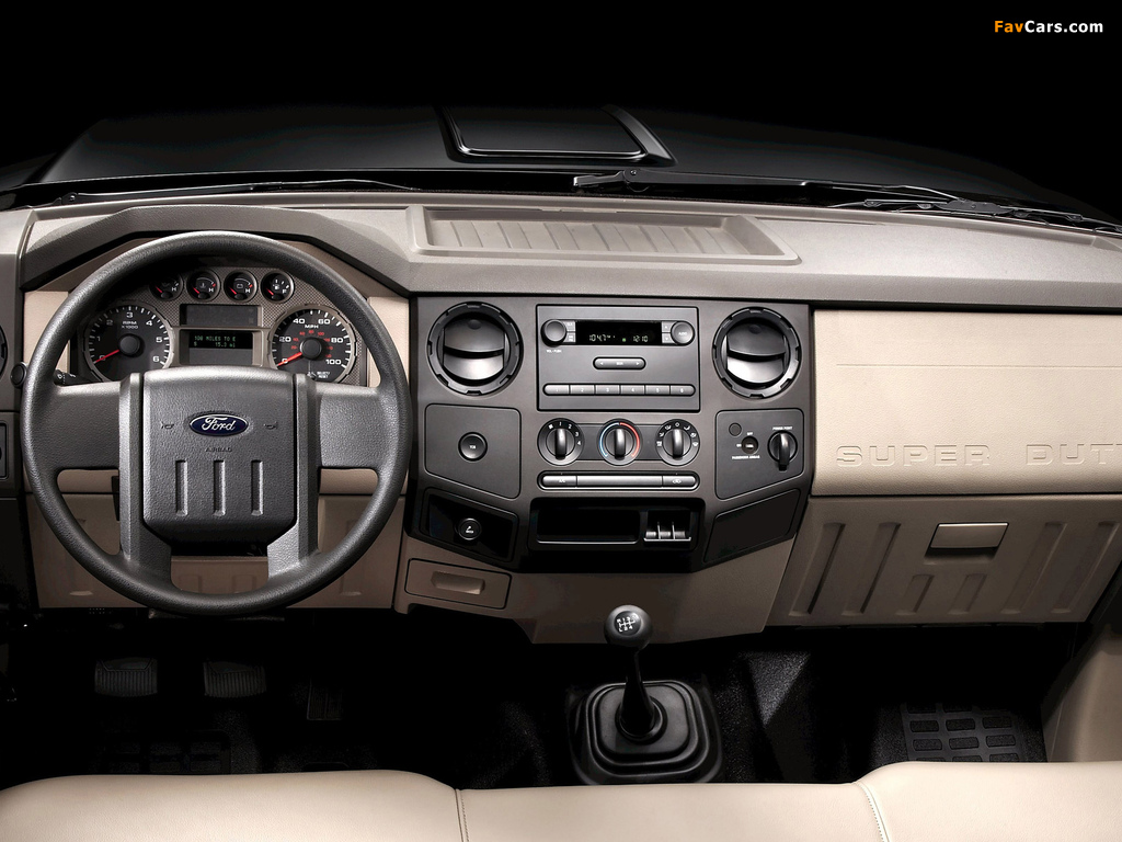 Ford F-250 Super Duty Crew Cab 2007–09 pictures (1024 x 768)