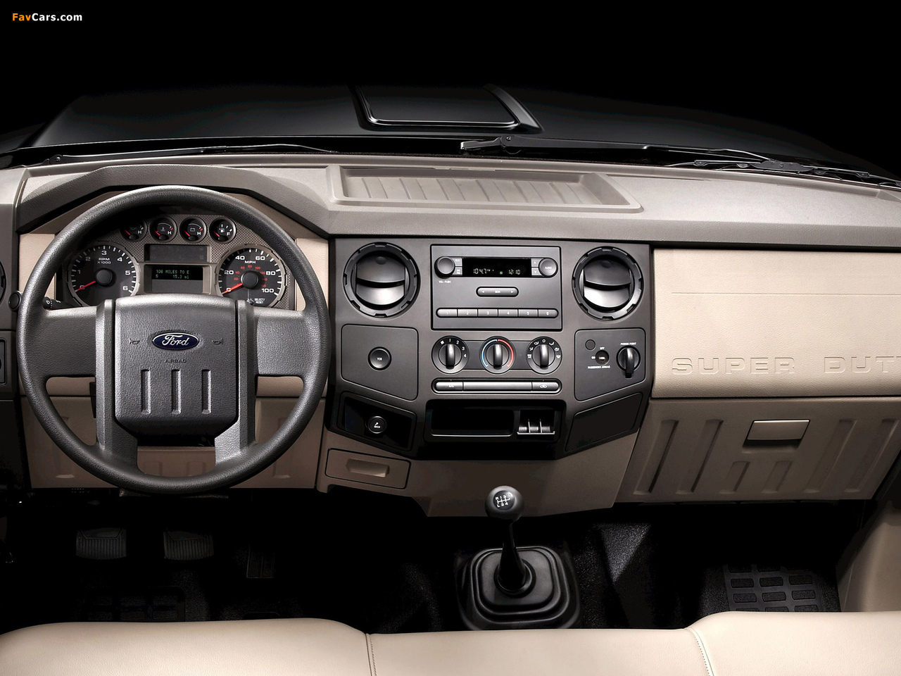Ford F-250 Super Duty Crew Cab 2007–09 pictures (1280 x 960)