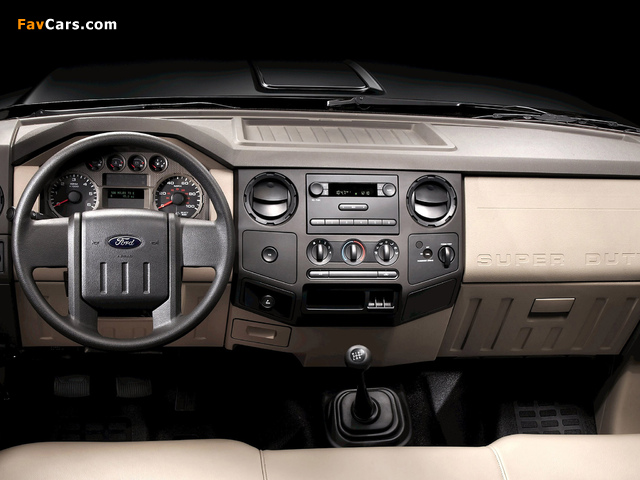 Ford F-250 Super Duty Crew Cab 2007–09 pictures (640 x 480)