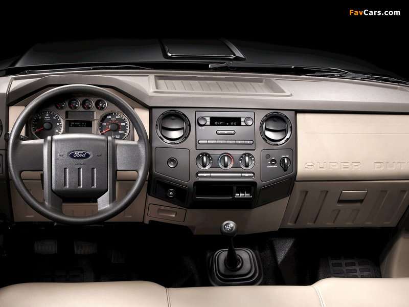 Ford F-250 Super Duty Crew Cab 2007–09 pictures (800 x 600)