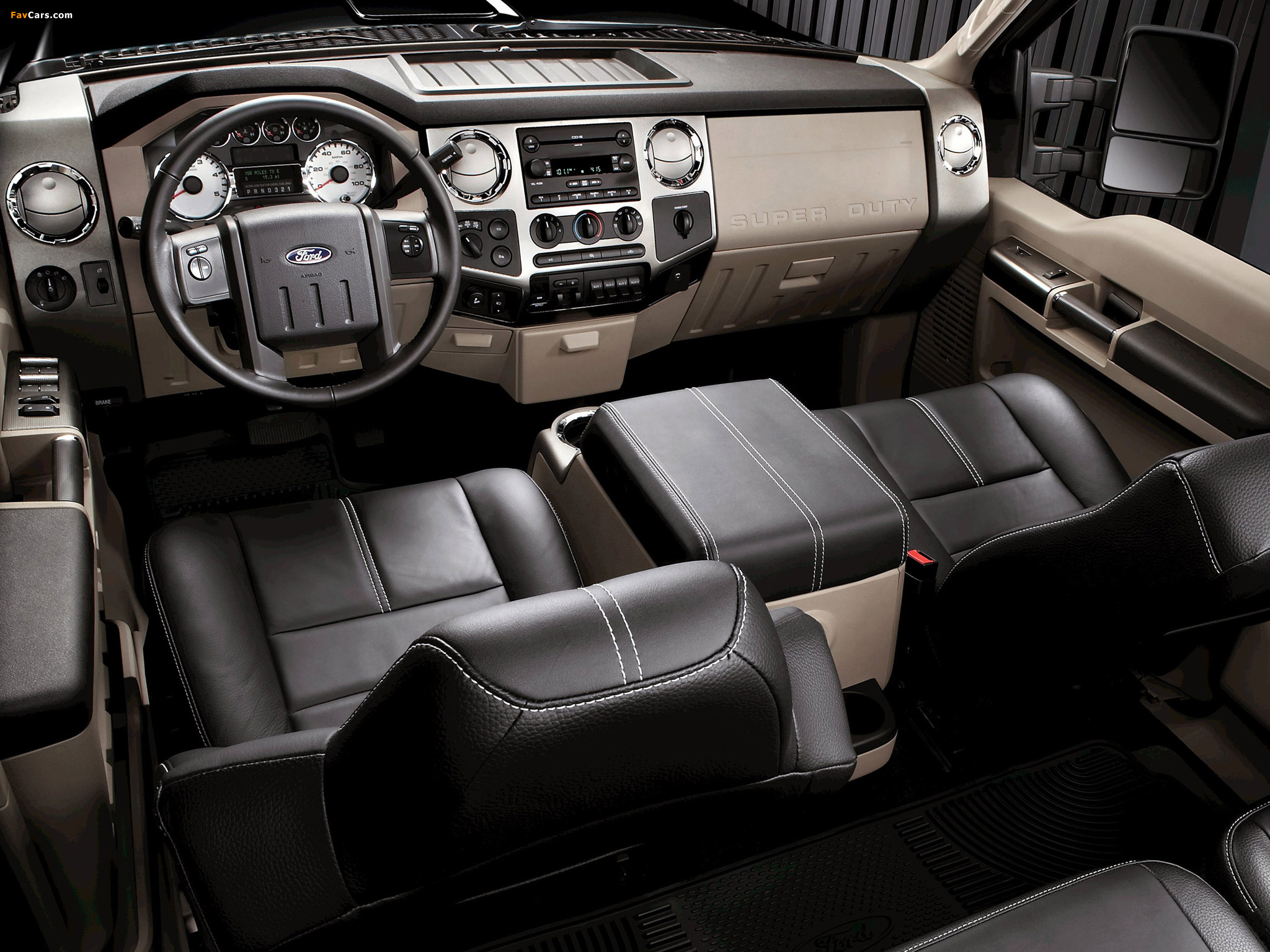 Ford F-250 Super Duty Crew Cab 2007–09 wallpapers (2048 x 1536)