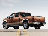 Ford F-250 Super Duty Crew Cab 2009–10 wallpapers