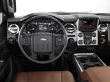 Ford F-250 Super Duty Platinum Crew Cab 2012 photos