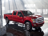 Ford F-250 Super Duty Platinum Crew Cab 2012 photos