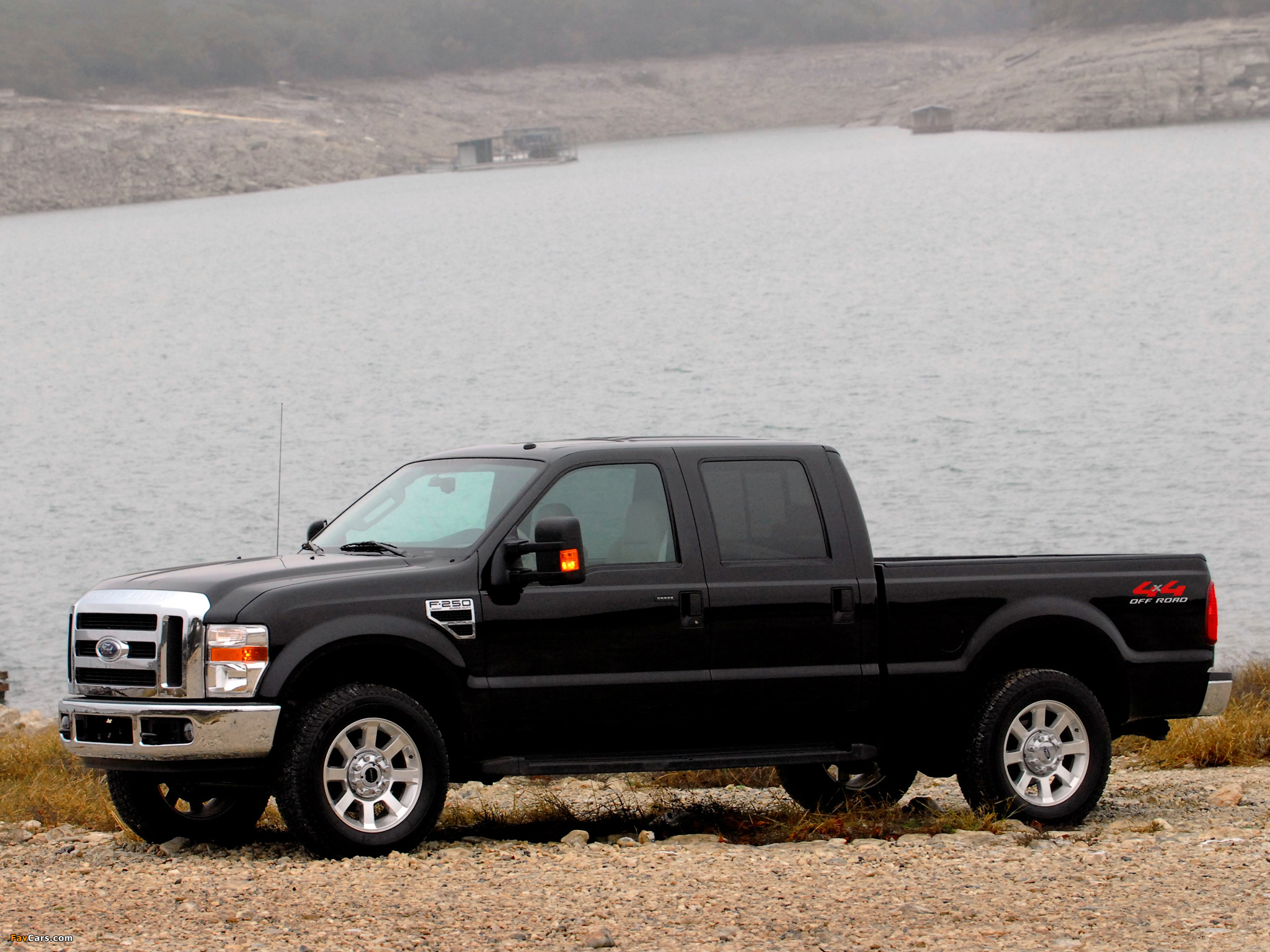 Images of Ford F-250 Super Duty Crew Cab 2007–09 (2048 x 1536)