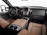 Images of Ford F-250 Super Duty Platinum Crew Cab 2012