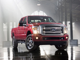 Images of Ford F-250 Super Duty Platinum Crew Cab 2012