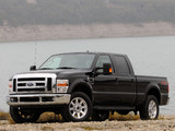 Photos of Ford F-250 Super Duty Crew Cab 2007–09