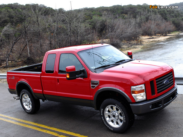 Photos of Ford F-250 FX4 2007–10 (640 x 480)