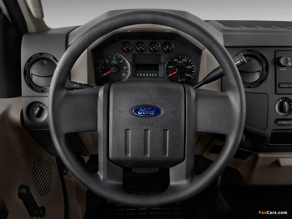 Photos of Ford F-250 Super Duty Regular Cab 2007–10 (1024 x 768)