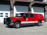 Pictures of Ford F-250 Super Duty Crew Cab Firetruck 2007–09