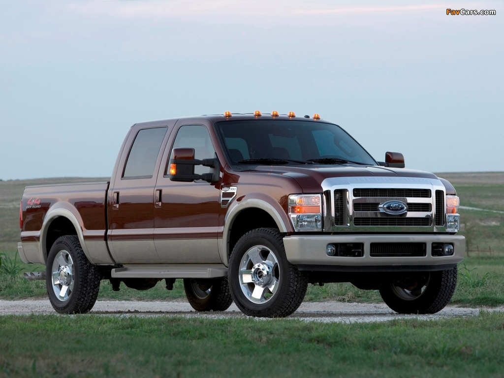 Pictures of Ford F-250 Super Duty Crew Cab 2007–09 (1024 x 768)