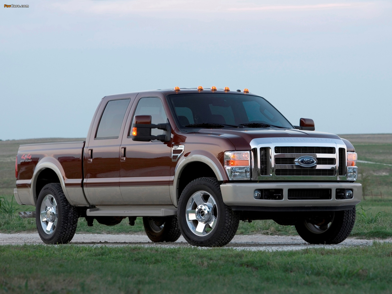 Pictures of Ford F-250 Super Duty Crew Cab 2007–09 (1600 x 1200)