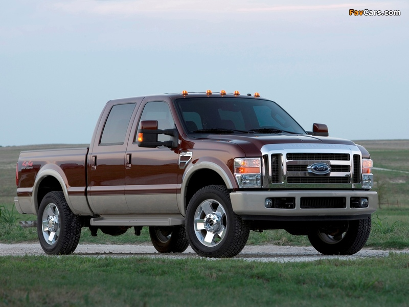 Pictures of Ford F-250 Super Duty Crew Cab 2007–09 (800 x 600)
