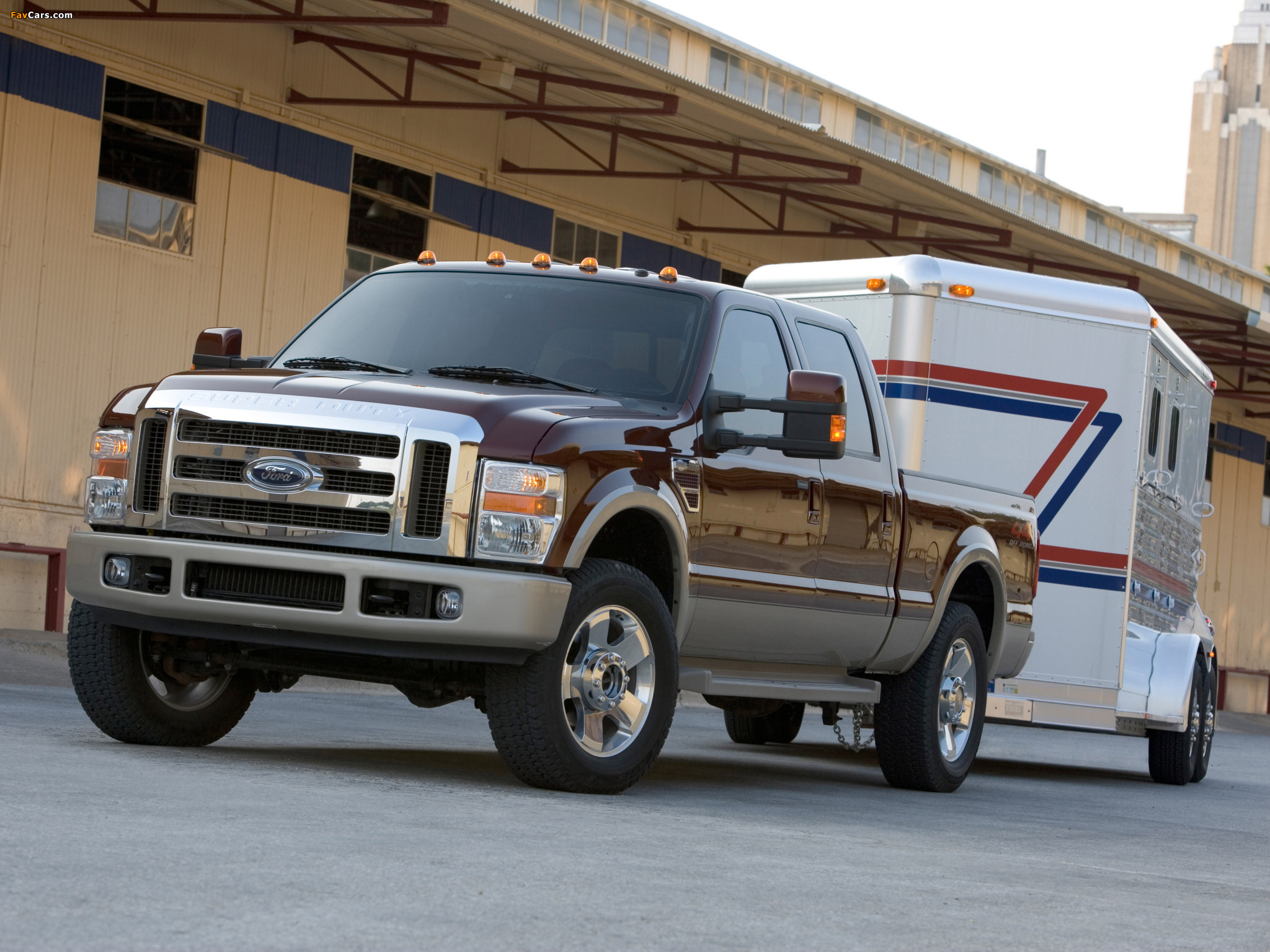 Pictures of Ford F-250 Super Duty Crew Cab 2007–09 (2048 x 1536)
