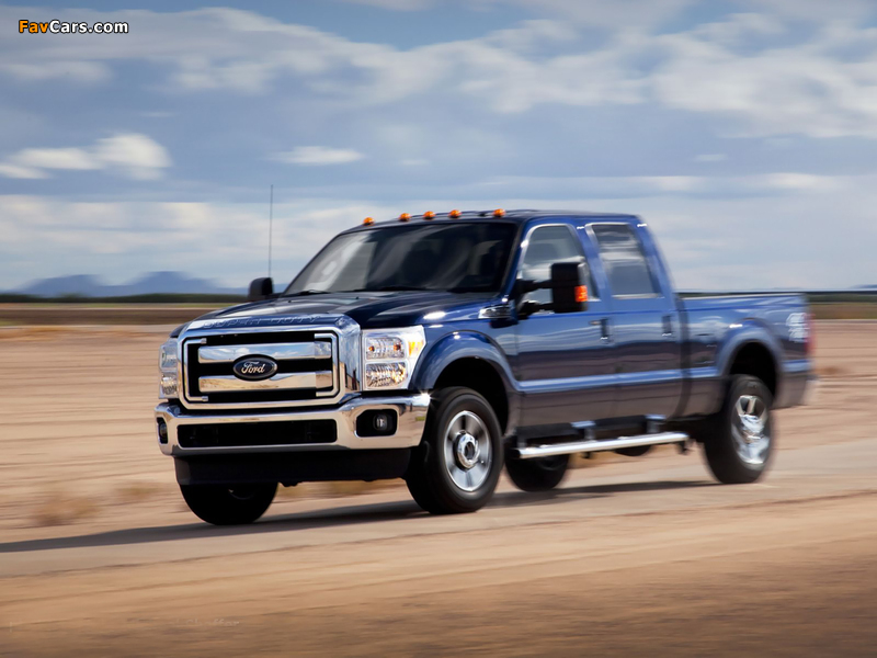 Pictures of Ford F-250 Super Duty FX4 Crew Cab 2010 (800 x 600)