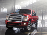 Pictures of Ford F-250 Super Duty Platinum Crew Cab 2012