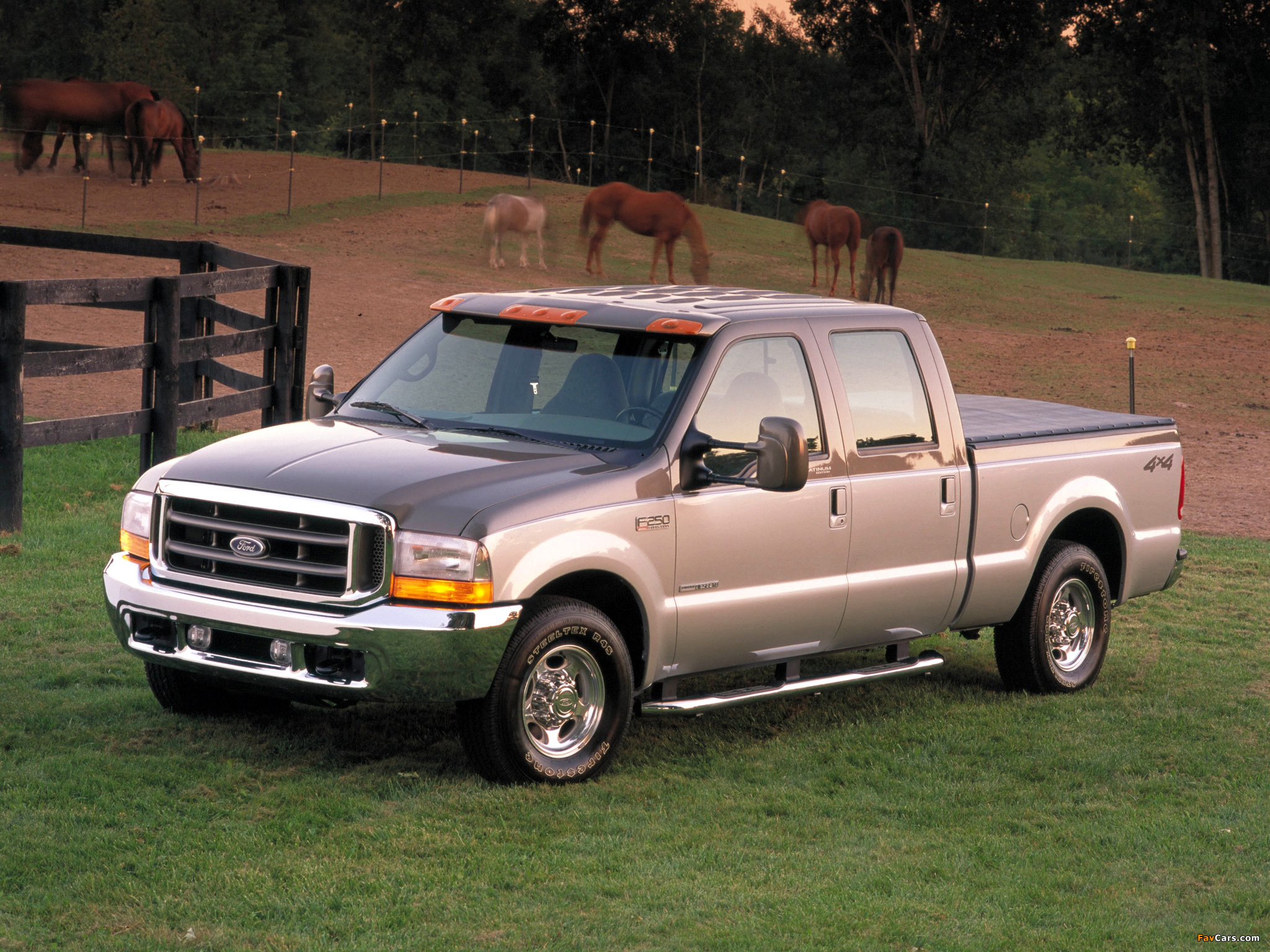 Ford F-250 Super Duty Platinum Edition 2001 wallpapers ...