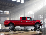 Ford F-250 Super Duty Platinum Crew Cab 2012 wallpapers