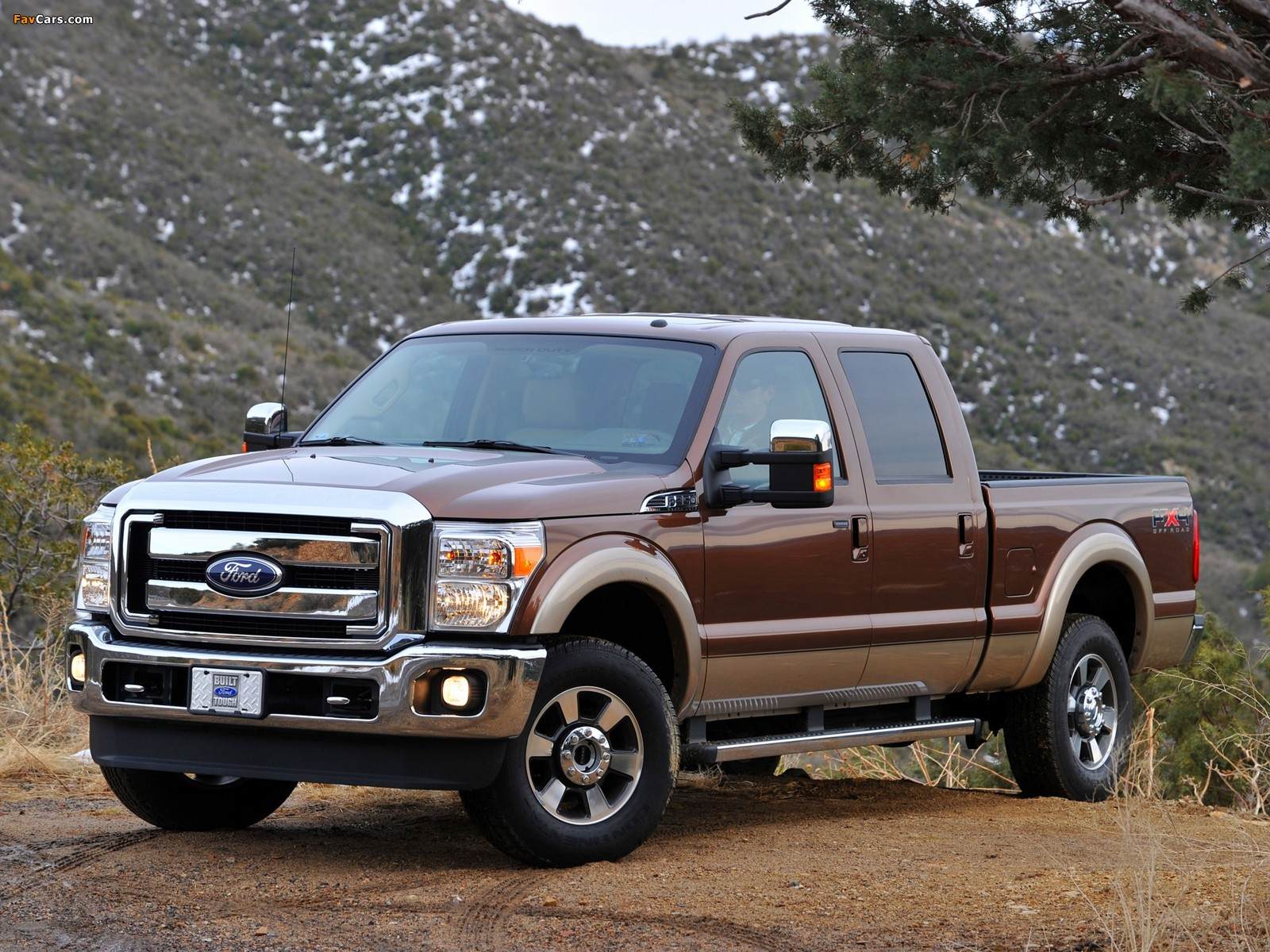 Ford F 350 Super Duty Crew Cab 2010 Wallpapers 1600x1200