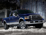 Ford F-350 Super Duty Crew Cab 2005–07 wallpapers