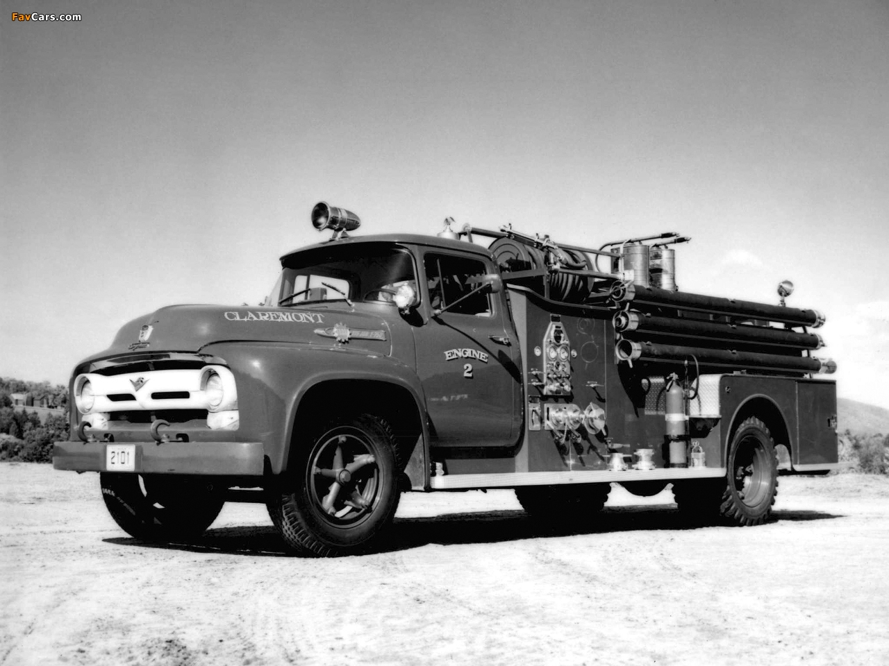 Ford F 750 >> Ford F-750 Firetruck 1956 images (1280x960)