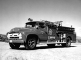 Ford F-750 Firetruck 1956 images
