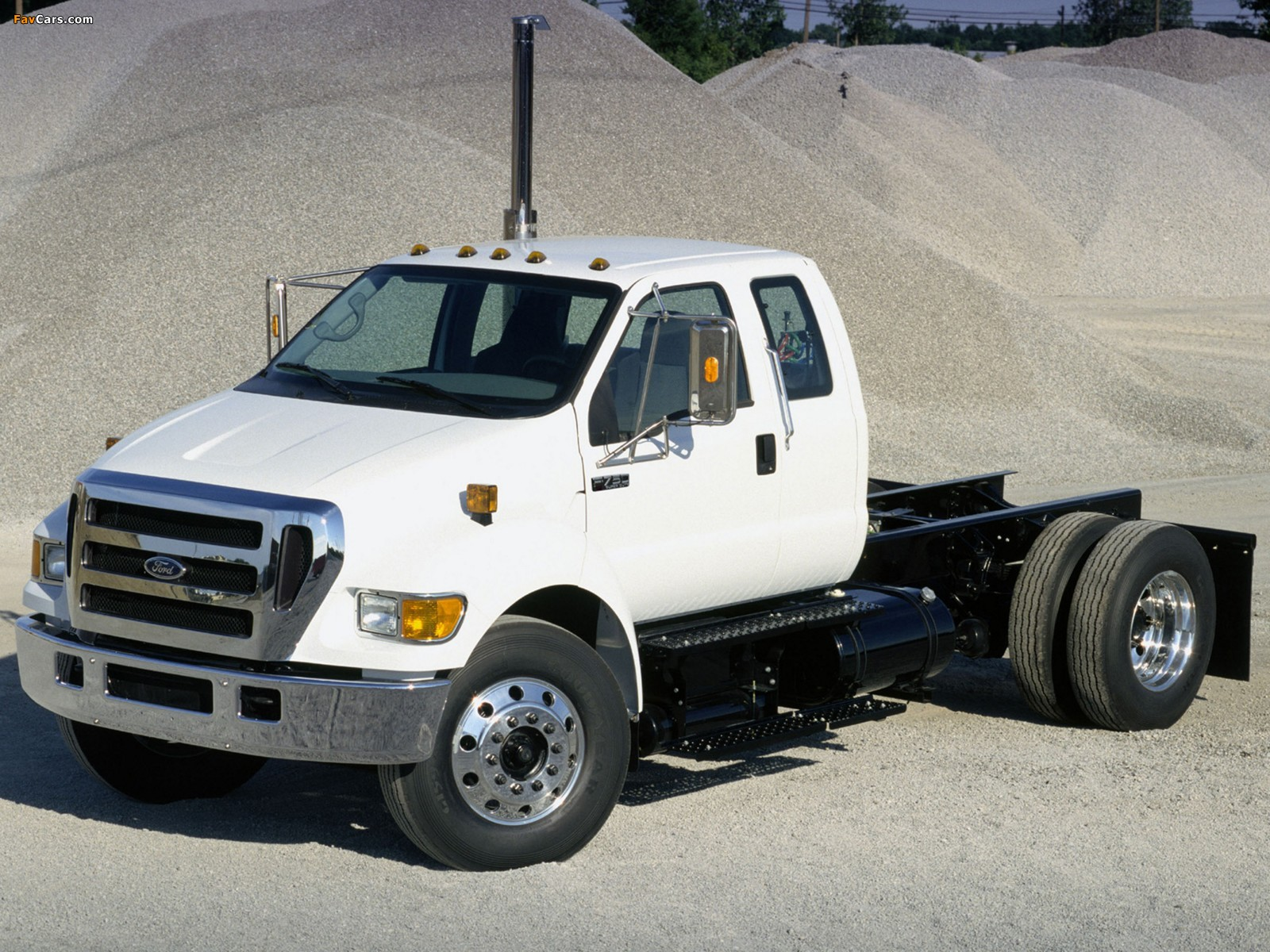 Ford F 750 Super Duty Extended Cab 2007 Photos 1600x1200