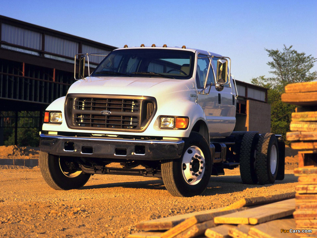 Ford F 750 >> Images of Ford F-750 Super Duty 1999–2004 (1024x768)