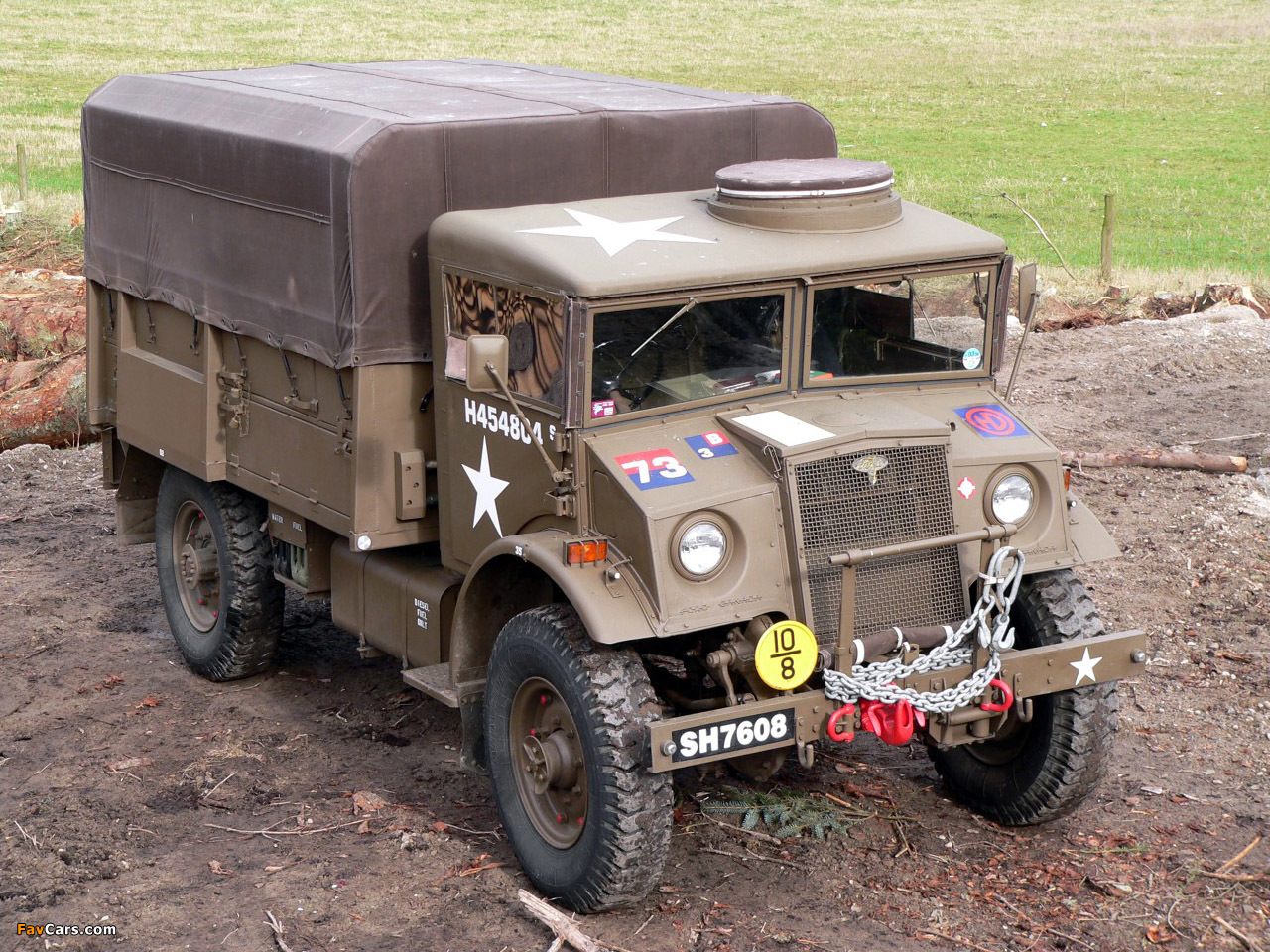 военный форд