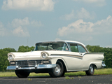 Ford Fairlane 500 Club Victoria 1957 pictures