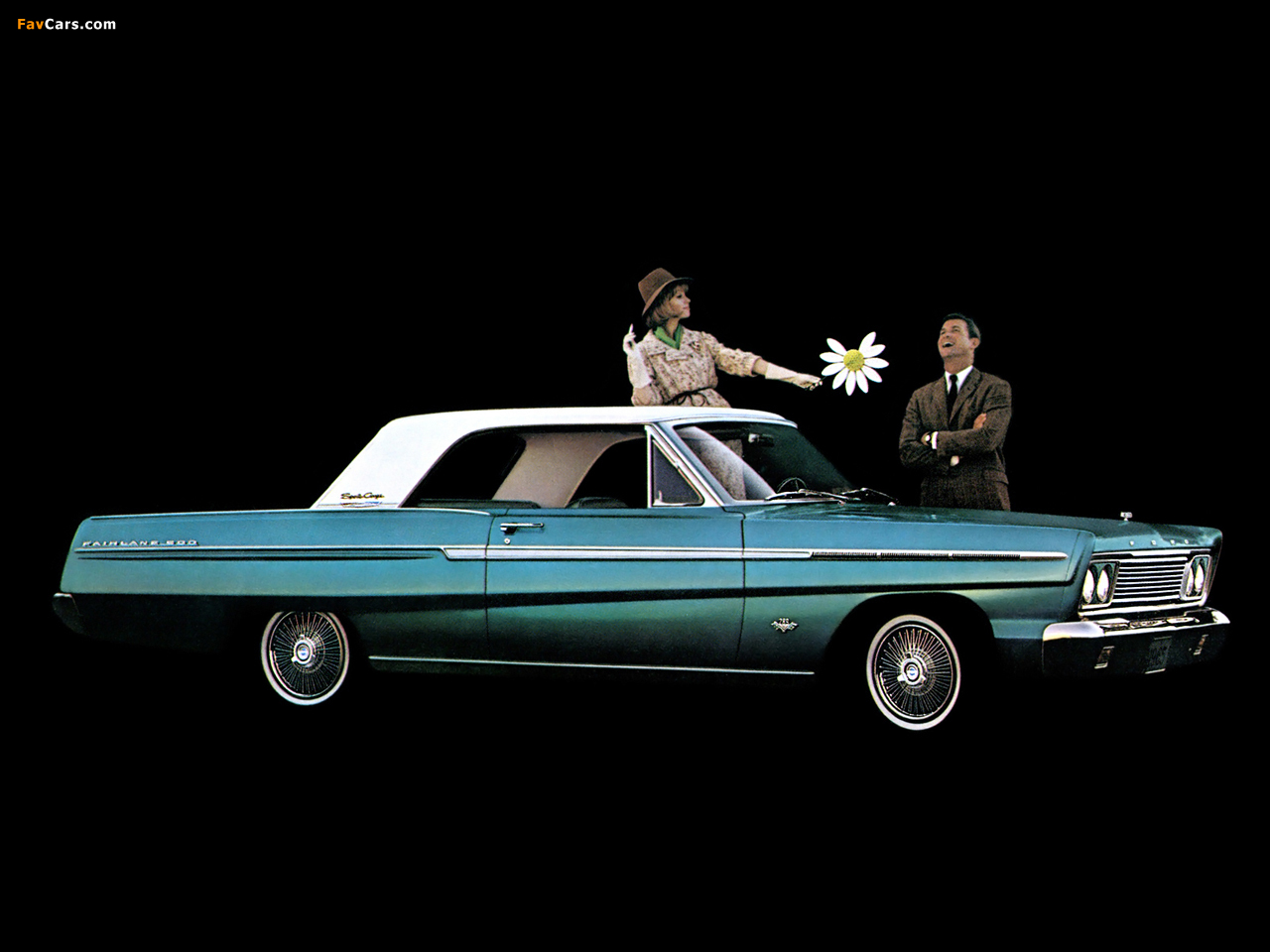 Ford Fairlane 500 2 Door Hardtop 1965 Wallpapers 1280x960