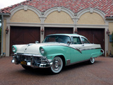 Photos of Ford Fairlane Crown Victoria Coupe (64A) 1956
