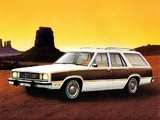 Pictures of Ford Fairmont Squire 1978–80