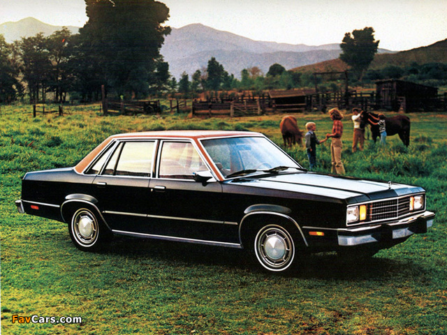 Ford Fairmont 1978–79 wallpapers (640 x 480)