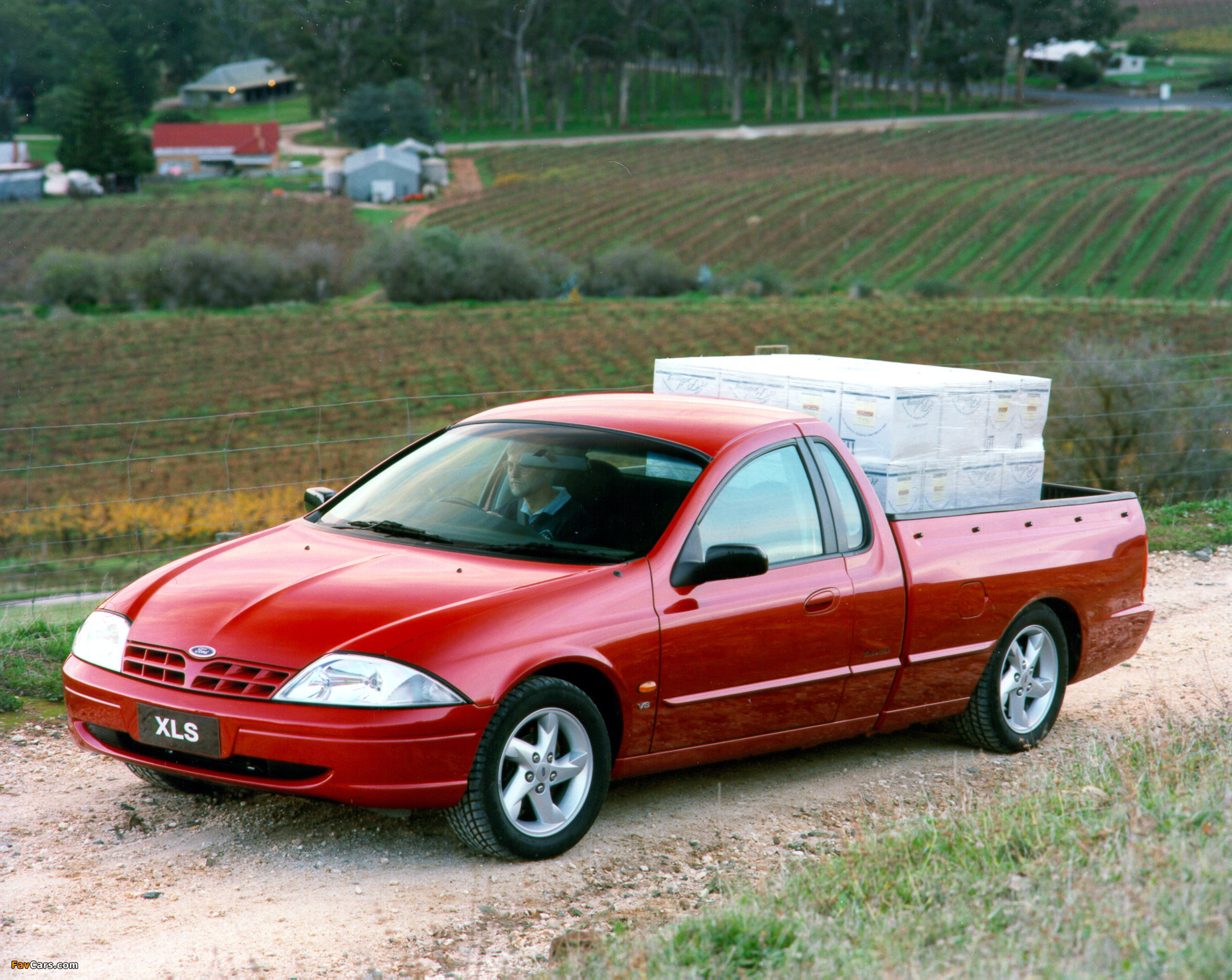 Pictures of Ford Falcon Ute XLS AU-spec (AU) 1999–2000 (1849 x 1472)