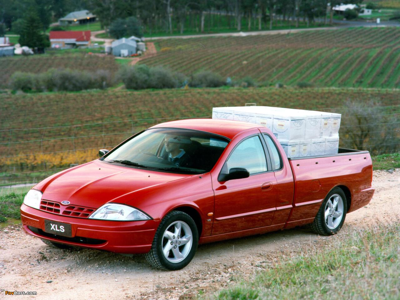 Pictures of Ford Falcon Ute XLS AU-spec (AU) 1999–2000 (1280 x 960)