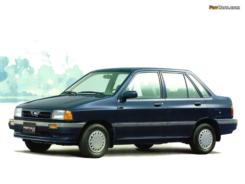 Pictures of Ford Festiva Beta (800 x 600)