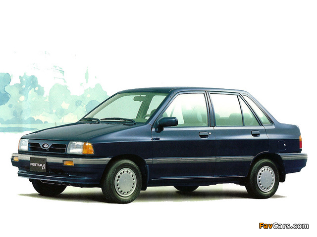 Pictures of Ford Festiva Beta (640 x 480)