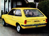 Ford Fiesta UK-spec 1976–83 photos