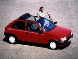 Ford Fiesta Calypso 1993 wallpapers