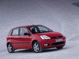 Ford Fiesta 5-door 2002–05 images