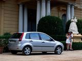 Ford Fiesta 5-door 2002–05 photos