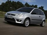 Ford Fiesta Sport 2002–05 photos