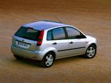 Ford Fiesta 5-door 2002–05 wallpapers