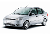 Ford Fiesta Sedan 2004–07 pictures