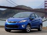 Ford Fiesta Sedan US-spec 2010 pictures