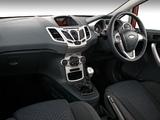 Ford Fiesta S 5-door ZA-spec 2010–13 pictures