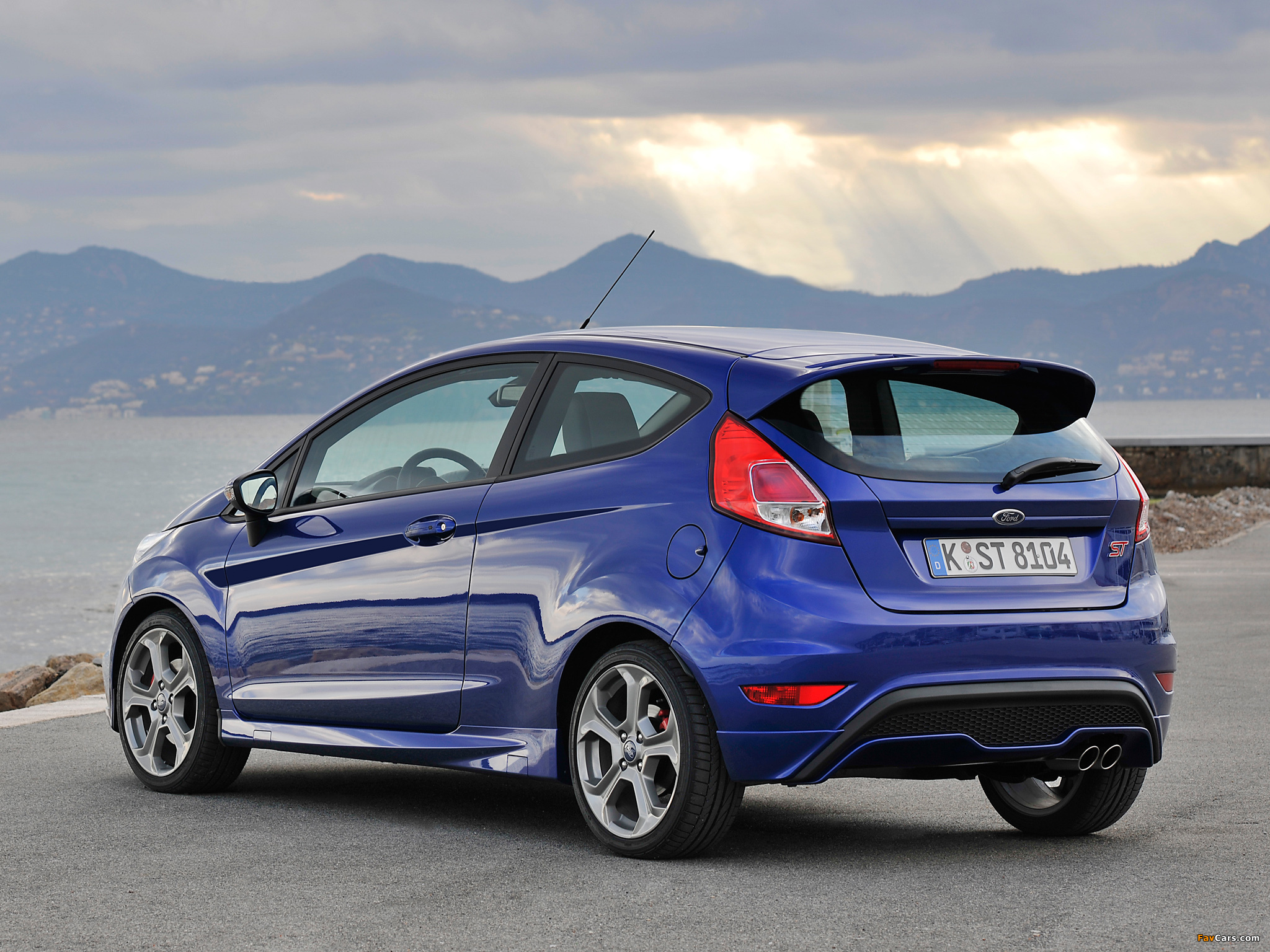 Ford Fiesta ST 3 door 2012 Wallpapers 2048x1536