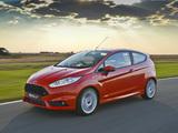 Ford Fiesta ST 3-door ZA-spec 2013 wallpapers